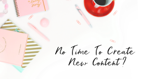 Save time with done for you content