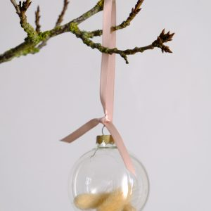 Bunny tail bauble