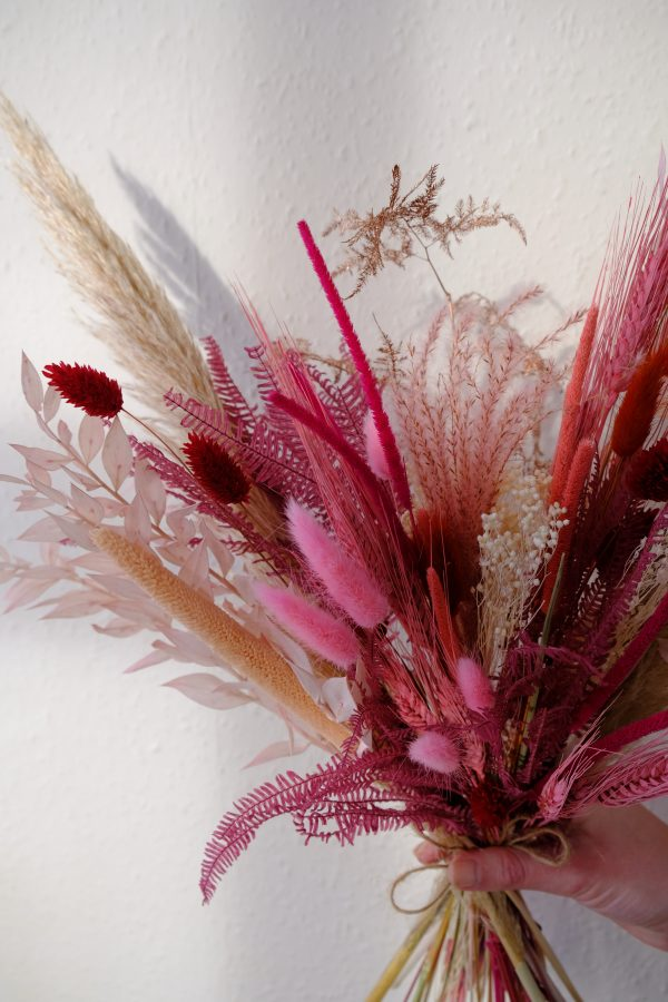 Valentine Dried Flower Bouquet