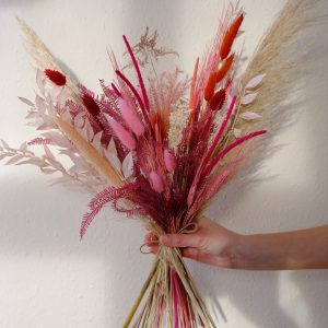 Dried Flower Valentine Bouquet