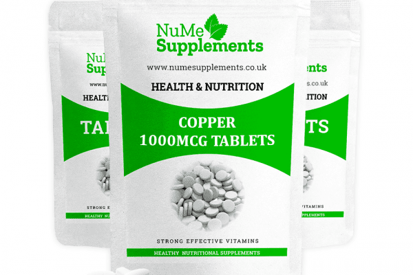 Copper tablets - an essential mineral for health.