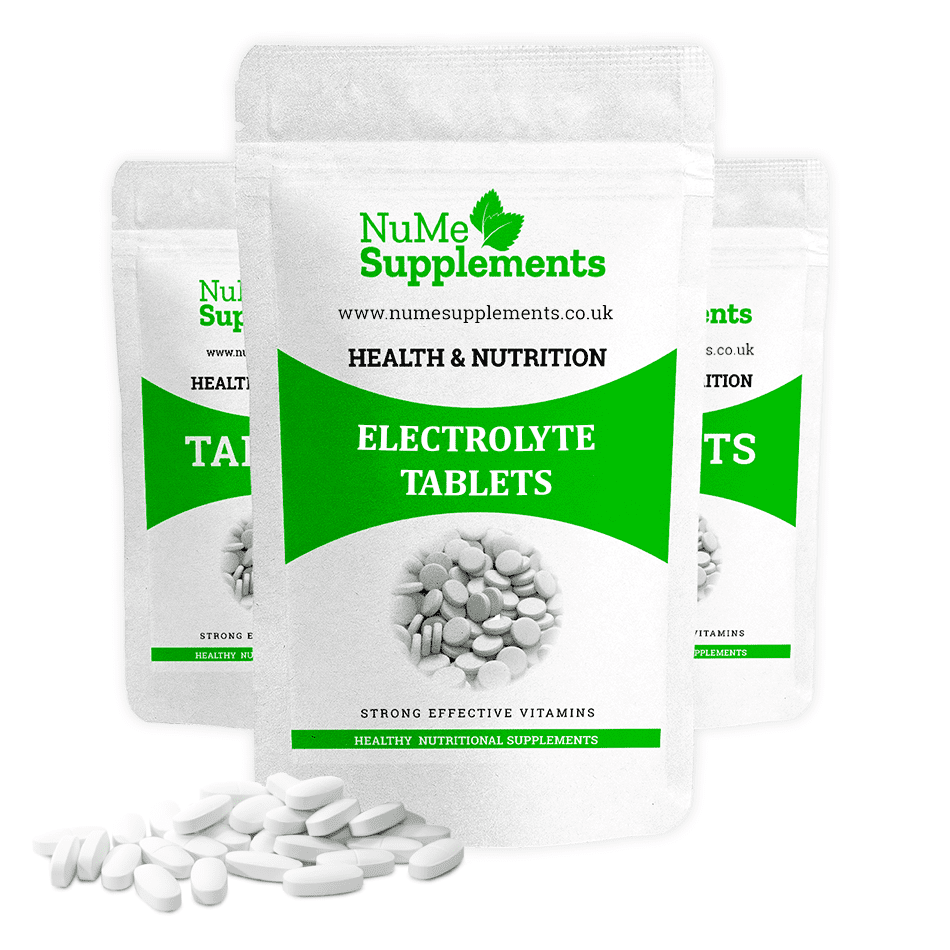 Electrolyte tablets help to replenish the body with vital nutrients such as potassium and sodium lost when you feel dehydrated.